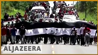 🇭🇳 Migrant caravan activists: Trump to blame for Honduras situation | Al Jazeera English - ALJAZEERAENGLISH