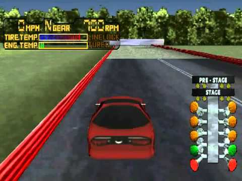 Playstation - IHRA Drag Racing .flv