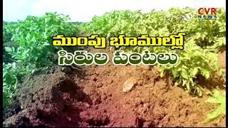 ముంపు భూముల్లో సిరుల పంటలు | Cultivation in Caved Land in Sangareddy Dist | CVR News - CVRNEWSOFFICIAL