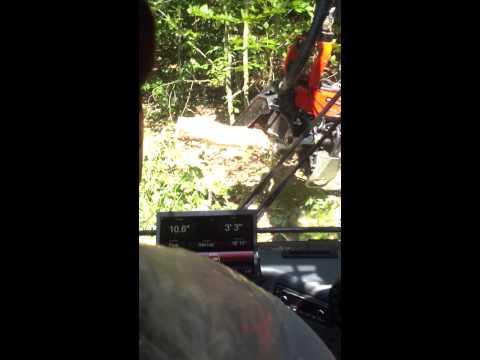2014 Komatsu 931.1 Wheeled Harvester w/Komatsu 365.1 dangle head