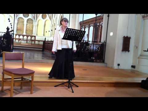 An Die Music Schubert, Christine Hubbard.MOV
