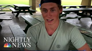 Colorado Man Survives Bear And Shark attack In One Year | NBC Nightly News - NBCNEWS