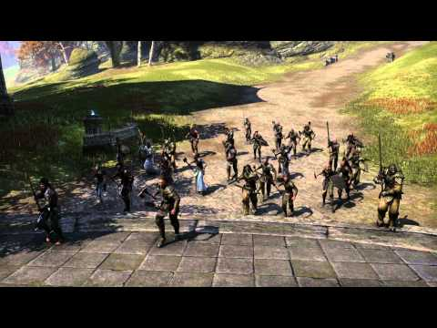 The Elder Scrolls Online - War in Cyrodiil Release Trailer (Deutsch)