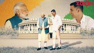 Akshay Kumar interviews Prime Minister Narendra Modi in a non political way - ZOOMDEKHO