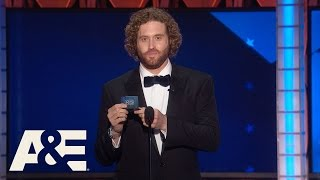 Best of T.J. Miller at the Critics' Choice Awards | A&E - AETV