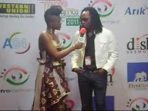 Fally Ipupa, Viviane Ndour, Tofgone and Nubiens at Afrotaintment museke awards 2010
