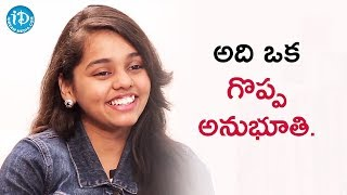 It Was A Unique Experience - Shanmukha Priya || Talking Movies With iDream - IDREAMMOVIES