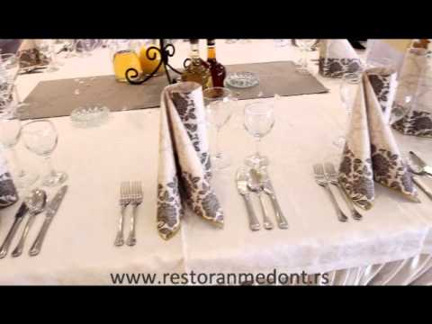 Kako treba da izgleda dekoracija restorana za Vase vencanje? - Pogledajte snimak!