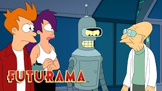 FUTURAMA | Season 10, Episode 11: Alien Versus Friendship | SYFY - SYFY