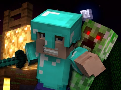 Revenge A Minecraft Parody of Usher s DJ Got Us Fallin in Love Crafted Using Noteblocks