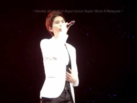 [FanCam] 100320 Super Junior Super Show II  Malaysia ~ Kyuhyun - Forgive Me