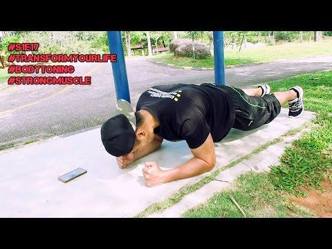 Teknik Bakar Lemak dalam 4minit | Strongman Fitness