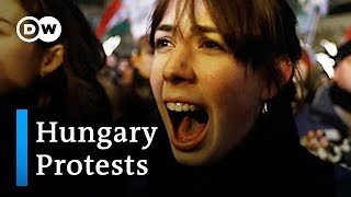 So-called 'slave law' fuels opposition to Hungary's government | DW News - DEUTSCHEWELLEENGLISH