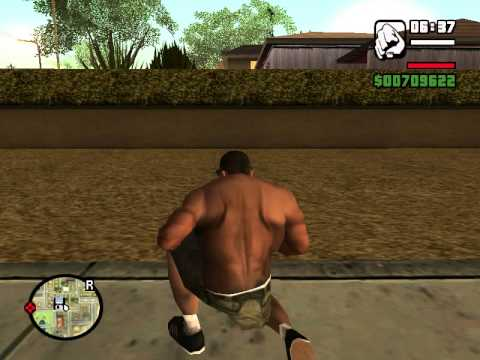 GTA San Andreas Ep.1 Adventure for the striptis club