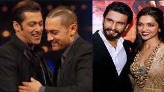 Salman Khan and Aamir khan's growing friendship, Ranveer Singh and Deepika Padukone's marriage