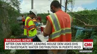 Leading Democrat calls for Puerto Rico water investigation after CNN report - CNN