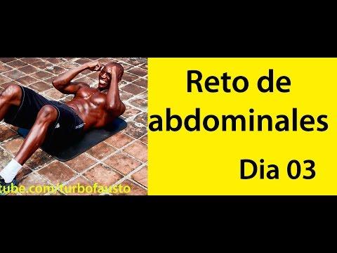 ABDOMINALES EN 30 DIAS( RETO DIA 03)