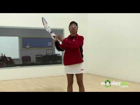 Racquetball Basics - Grips and Strokes