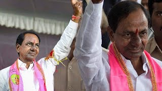 KCR Oath Taking Ceremony As Telangana Chief Minister Live | Raj Bhavan | iNews - INEWS