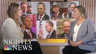 Roy Moore Accuser Stands By Her Story | NBC Nightly News - NBCNEWS