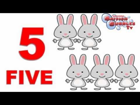 Aprender números en ingles del 1 al 10 - vídeo para niños