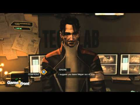 Deus Ex Human Revolution Walkthrough - PT. 3 - Back in the Saddle