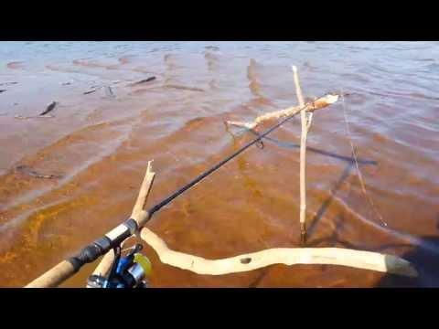 ловля на отводной поводок ранней весной видео