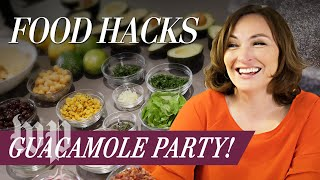 Mary Beth Albright's Food Hacks: Guacamole Party! - WASHINGTONPOST