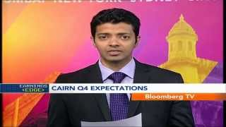 In Business- Cairn India Q4 Net Profit Seen Up 13.5% - BLOOMBERGUTV