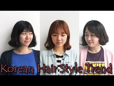 Korean Hair Style Trend+How to Make Bun!