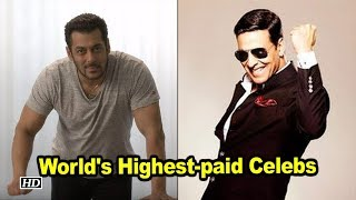 Akshay Kumar, Salman Khan among world's highest-paid celebs - IANSLIVE
