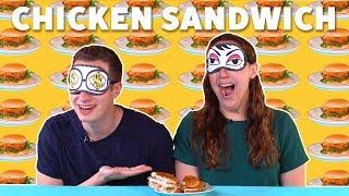 Fast Food Chicken Sandwich 🍗TASTE TEST - FOODNETWORKTV