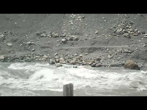 Kunhar river a short clip near kaghan