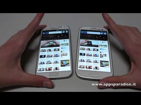 Confronto Samsung Galaxy S4 vs S3 ita by AppsParadise