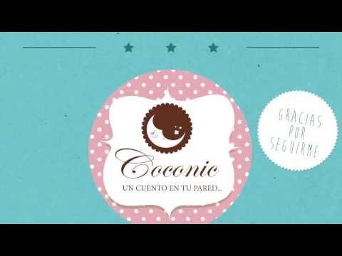cuadros y murales infantiles Coconic