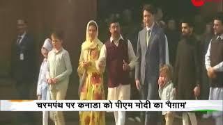 Deshhit: PM Justin Trudeau, PM Narendra Modi discuss terror; India, Canada ink six pacts - ZEENEWS