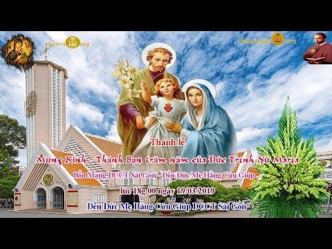 Thánh lễ Kính Thánh Giuse, bạn Đức Trinh nữ Maria - Đền Đức Mẹ Hằng Cứu Giúp