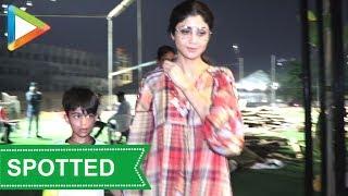 SPOTTED: Shilpa Shetty & son Viaan in Juhu - HUNGAMA