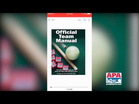 Download APA Rules Materials to iOS Device