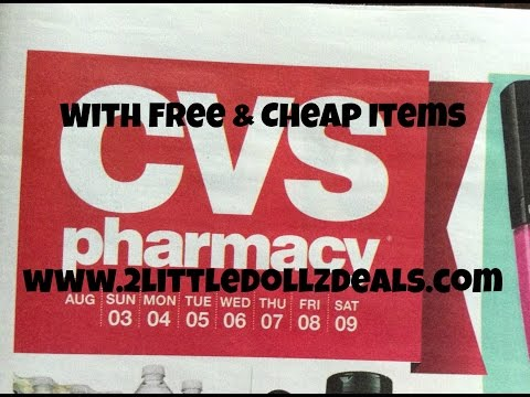 CVS Sale Preview With Free & Cheap Items Coupon Match ups 8/3/14 to 8/9/14