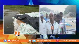 Phethai Cyclone | Huge Crop Damaged With  Heavy Rains In Nirmal | iNews - INEWS