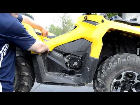 Engine & Gearbox Oil Change - Can-Am Outlander 1000XT