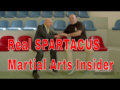 THE REAL SPARTACUS Martial Arts Insider pt1