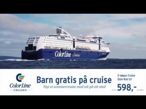 Barn Gratis på Cruise i Sommer