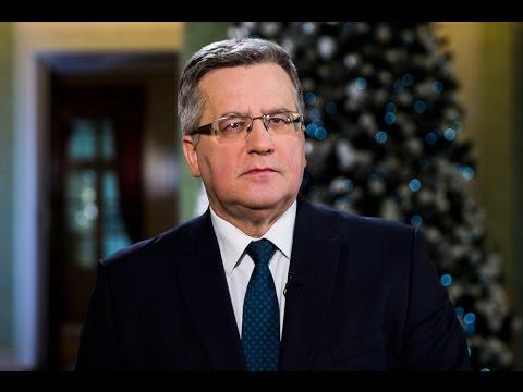 Orędzie prezydenta Komorowskiego