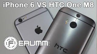 Apple iPhone 6 vs HTC One M8 большое сравнение. Что лучше One M8 или iPhone 6 мнение FERUMM.COM