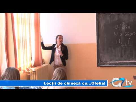 LECTII DE CHINEZA CU... OFELIA!