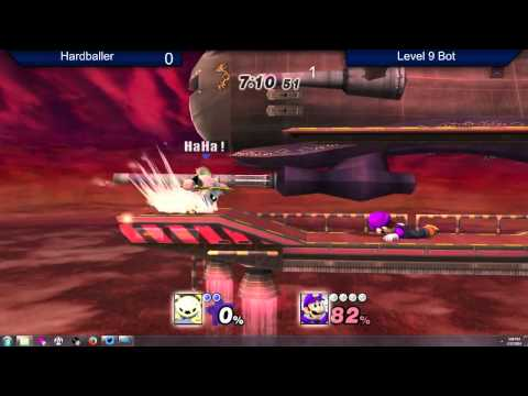 Hardballer Gets 4-stocked by a CPU (Project M)