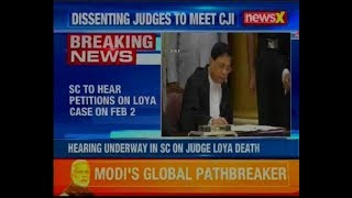 Judge Loya death case: Supreme Court to hear petitions on Loya case on February 2 - NEWSXLIVE