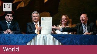 Ecuador signs $4.2bn financing with IMF - FINANCIALTIMESVIDEOS